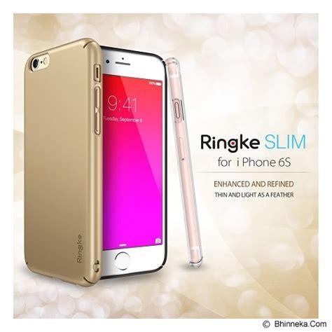 Rearth Ringke Slim Apple Iphone 7 Royal Gold jual rearth ringke slim iphone 6s rsap066 royal gold murah bhinneka