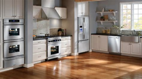contemporary kitchen appliances what s the best appliance finish for your kitchen