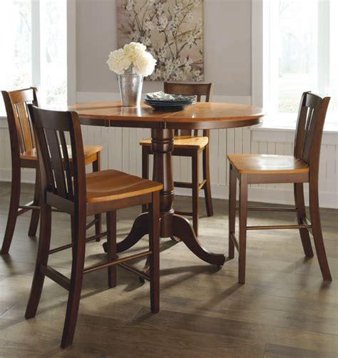 48 Dining Table With Leaf 36 Quot Hardwood Table With Leaf Extends To 48 Quot Free