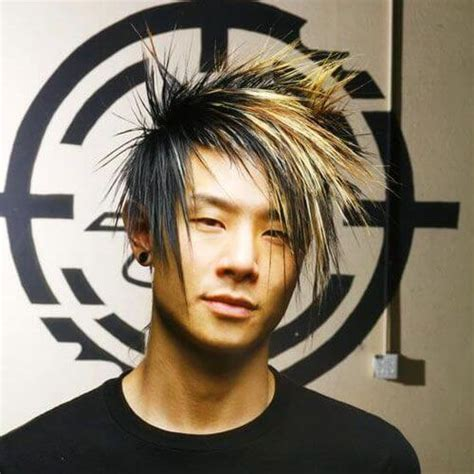 mohawk with fringe 50 cool emo hairstyles for guys men hairstyles world