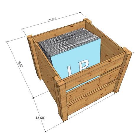 box vinyl cover vinyl records storage lp record storage crate is