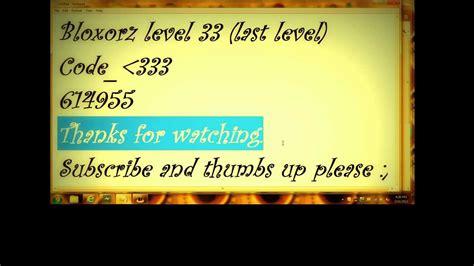 bloxorz level 33 bloxorz last level code