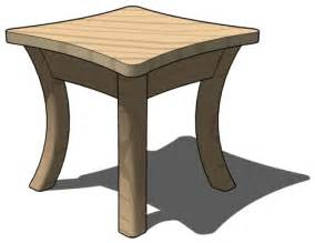 side table 301 moved permanently