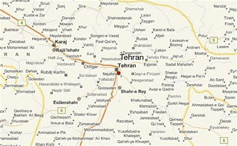 map of tehran iran tehran location guide