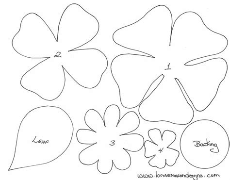 felt templates best 20 felt flowers patterns ideas on felt