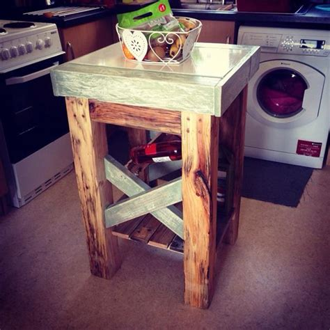 Diy Kitchen Island Table Diy Pallet Kitchen Island Table Wooden Pallet Furniture