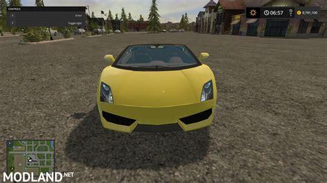 Lamborghini Mods Lamborghini Gallardo Mod Farming Simulator 17