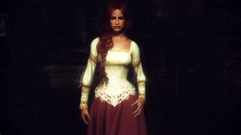 Wedding Attire Skyrim by Skyrim Pretty Clothing Noble Wedding Dress Elder Scrolls