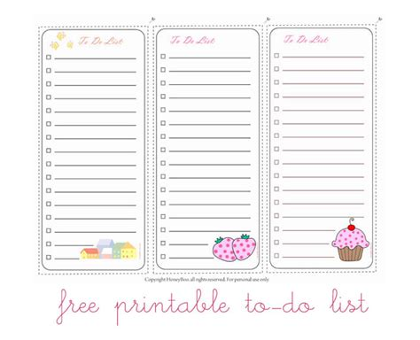 printable to do list cute 6 best images of cute to do list printable baby shower