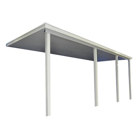 patio awnings lowes shop americana building products 12 ft wide x 8 ft