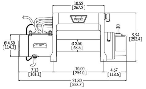 warn xd9000 xd9000i premium winch series winches