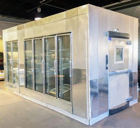 walk in cooler freezer combo canada 1 kolpak 6 glass door walk in cooler freezer combo