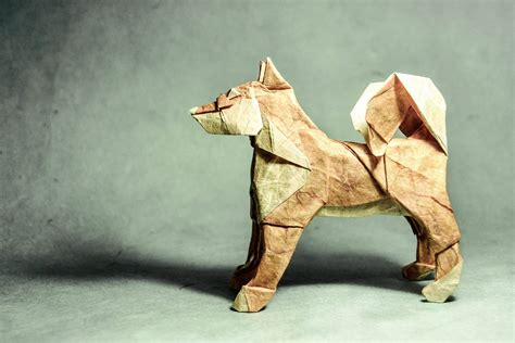 Puppy Origami - origami image collections craft decoration ideas