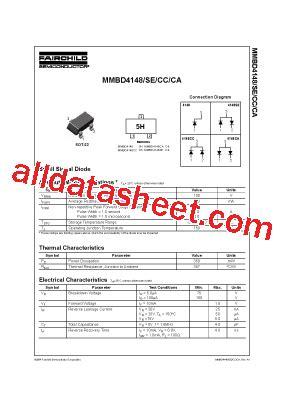 equivalencia transistor c9013 4148 diode datasheet pdf 28 images mmbd4148 datasheet pdf fairchild semiconductor 1n4148