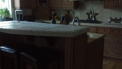 how high is a kitchen island cutting high top bar counter to match adjacent attached counter height on kitchen island