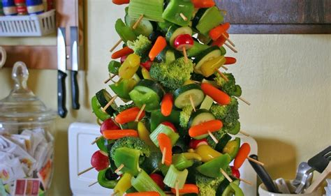 edible tree centerpiece make healthy edible tree centerpiece with