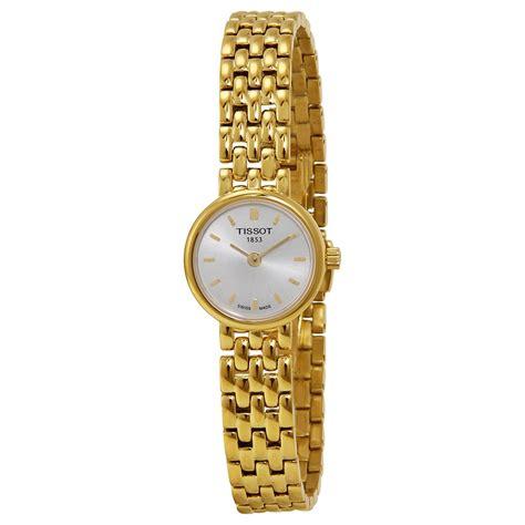 Tissot T0580093303100 Lovely Gold White tissot t trend lovely silver gold plated