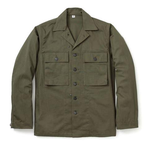 The Real Mccoys Hbt Shirt the real mccoy s hbt fatigue jacket mj17012