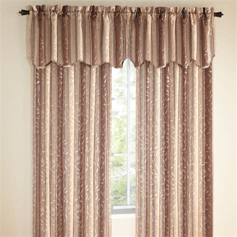 swags galore curtains whitfield stripe curtains chocolate view all curtains