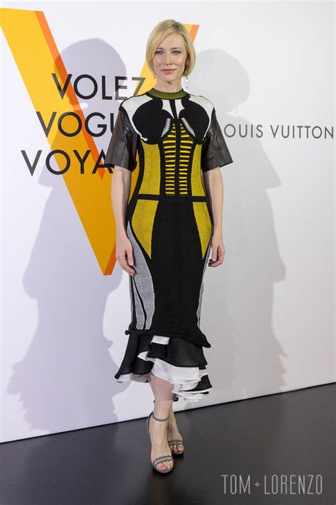 And Cate Blanchett At The Armani Fashion Show by Cate Blanchett At The Louis Vuitton Quot Volez Voguez