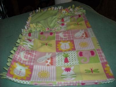 Handmade Baby Blanket Ideas - fleece by blankets