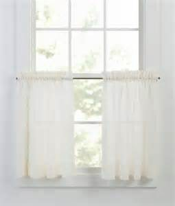 Tier Curtains Tier Curtains Cotton Voile Tier Curtains Country Curtains 174