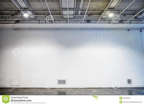 blank gallery wall blank wall stock photography image 36100802