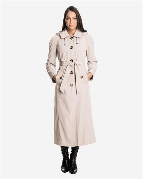 Jaket Wanita Parka Burberry s raincoat with detachable fog