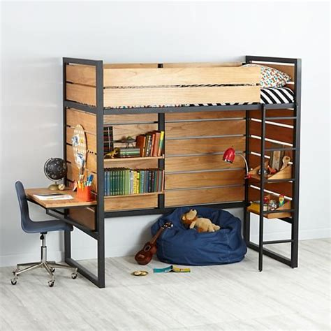Land Of Nod Bunk Beds Order Loft Bed The Land Of Nod High For C S Room But Perhaps Could Custom