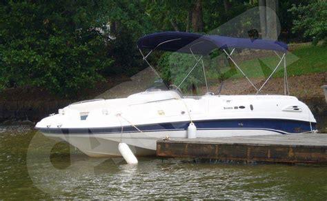 boat windshield canopy 7oz boat bimini top high tide v 1602 standard w side