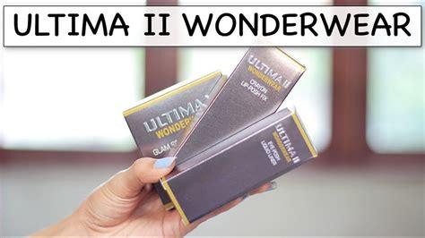 tutorial makeup ultima ii ultima ii indonesia wonderwear one brand tutorial