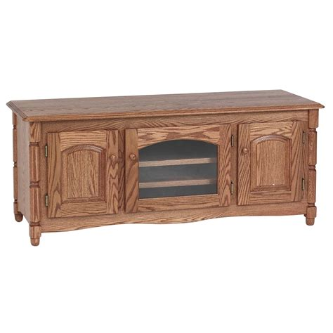 country style tv unit solid oak country style tv stand w cabinet 58 quot the oak