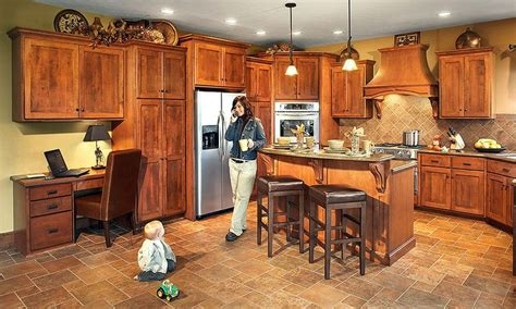 amish crafted kitchen by mullet cabinet in millersburg