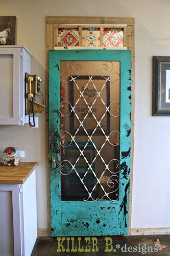 pantry screen door i love this idea for the home old screen door turned pantry door kitchens eating