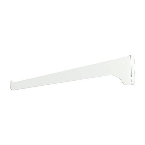 16 Shelf Bracket by Knape Vogt Steel Shelf Bracket 16 Quot White R 233 No D 233 P 244 T