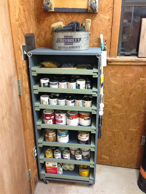 Paint Storage Cabinets Diy Paint Storage Cabinet Wilker Do S