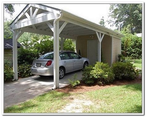 backyard carport designs open carport with storage carports pinterest storage