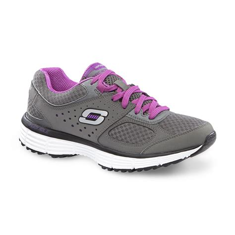 s fit running shoe gray purple
