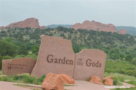Can You Visit Garden Of The Gods In Winter 36 Hours In Manitou Springs Colorado My Big Happy