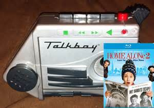 from home talkboy from home alone 2 vintage and totally retro