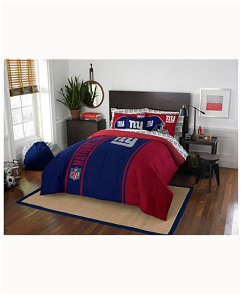 Ny Giants Crib Bedding New York Giants Bedding Collection Bed In A Bag Bed