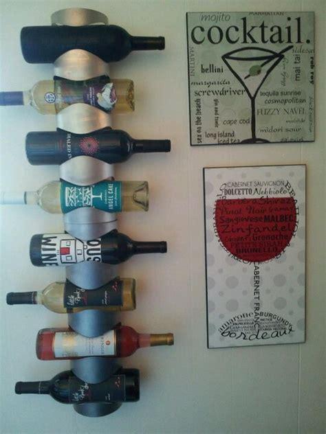 Diy Wall Mounted Wine Rack by 10 Cool Wine Rack Ideas Hative