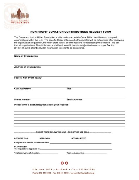 non profit donation receipt form template 10 best images of non profit donation receipt form non