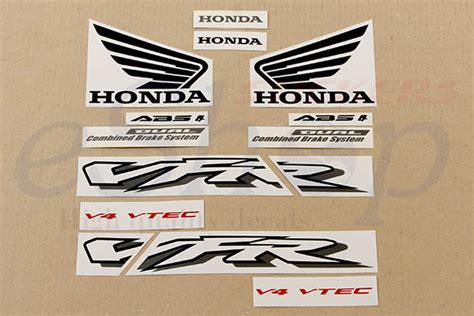 Honda Vfr 800 Vtec Aufkleber by 2 X Hochwertige Honda Vfr 800 Vtech Large Decal Set