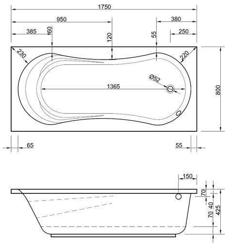 Badewanne Mit Duschfunktion by Badewanne Mit Dusche 175 X 80 Cm Mit Duschfunktion Duschwanne