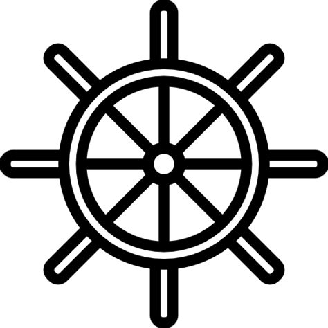 boat steering wheel icon ship steering wheel free other icons