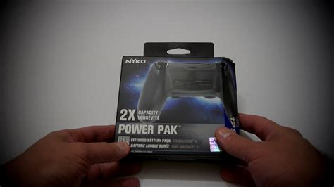 power apk nyko 2x power pak the battery of the ps4 controller