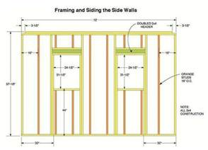 wall blueprints 10 215 12 storage shed plans blueprints for constructing a beautiful shed