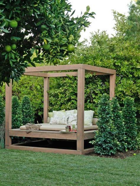 Build Patio Canopy Zufluchtsorte Im Lounge Garten Das Vergn 252 Des Sommers