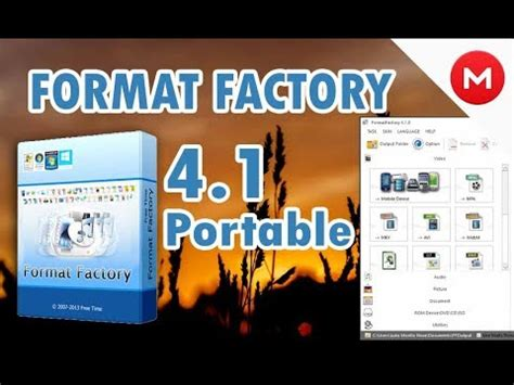 Format Factory Portable Mega 2015 | descargar y usar format factory 4 1 portable full mega